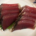 カツオの刺身は、からしで食べるのが普通なの?